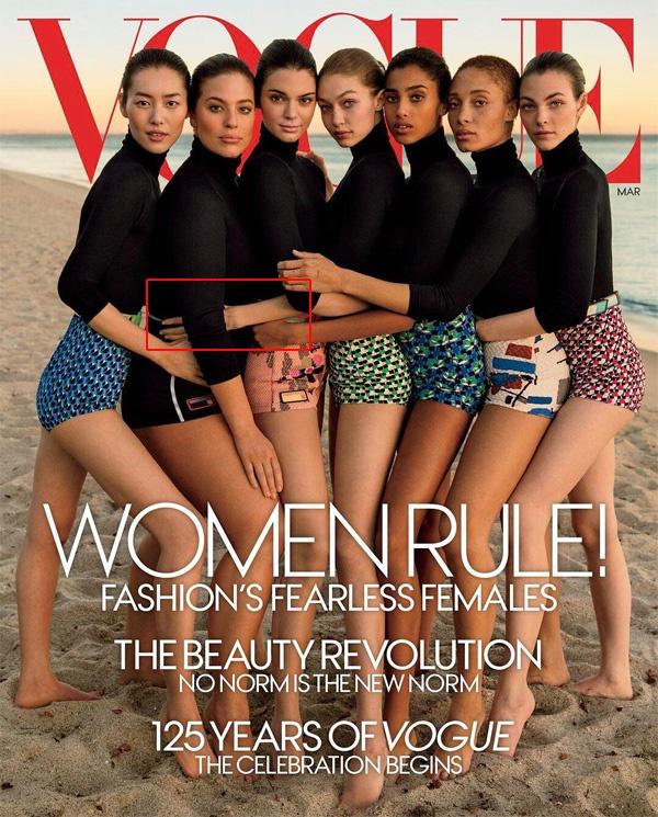 Tap chi Vogue bi chi trich vi photoshop qua da hinh anh 1