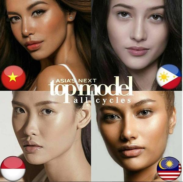 Minh Tu thi Asia's Next Top Model, duoc don doat giai a quan hinh anh 2