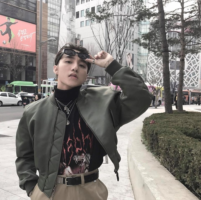 Son Tung M-TP dien do thung thinh nhu 'bo tre' o Seoul hinh anh 4