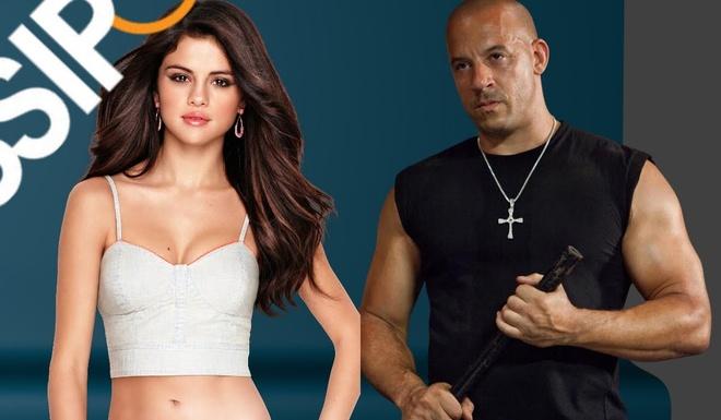 Vin Diesel tro tai ca hat ben Selena Gomez hinh anh