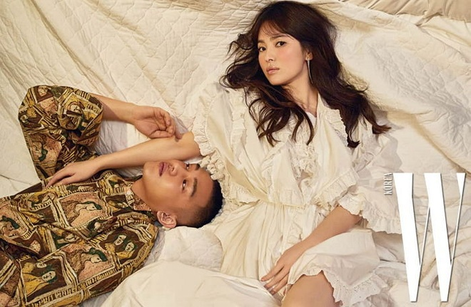 Song Hye Kyo len tieng ve Song Joong Ki anh 1