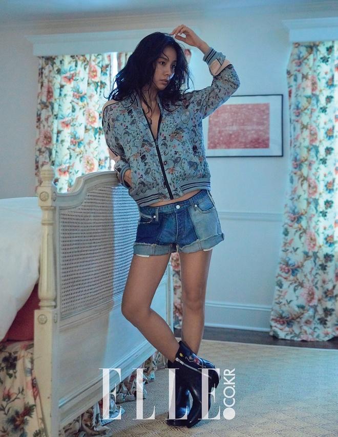 Lee Hyori tren tap chi elle thang 3 anh 2
