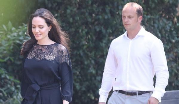 Angelina Jolie ngot ngao khi xuat hien ben nguoi tinh tin don hinh anh
