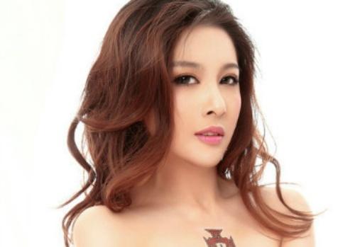 Minh tinh Trung Quoc bat tai tran 'yeu rau xanh' sam so co o sieu thi hinh anh