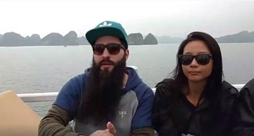 Dao dien 'Kong: Skull Island' ru Suboi di vinh Ha Long hinh anh