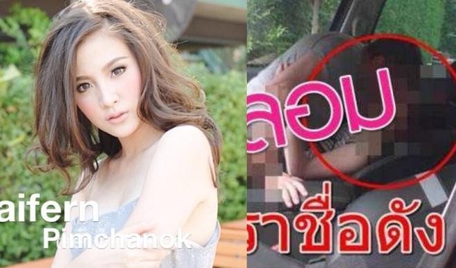 Sao nu hang A Thai Lan dau dau vi anh nghi van 'may mua' tren xe hoi hinh anh 1