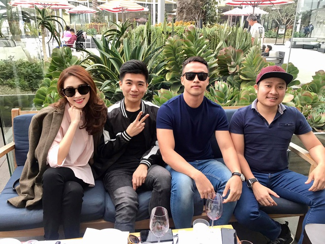 Hoa hau Thu Thao va con trai bau Hien anh 2