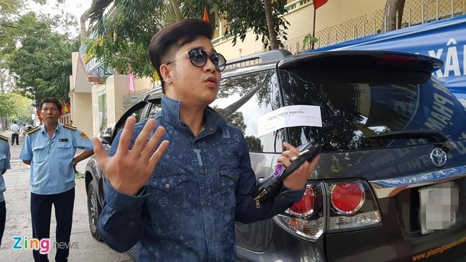 Quach Tuan Du quyet dinh ban xe hop sau khi xe bi cau ve phuong hinh anh