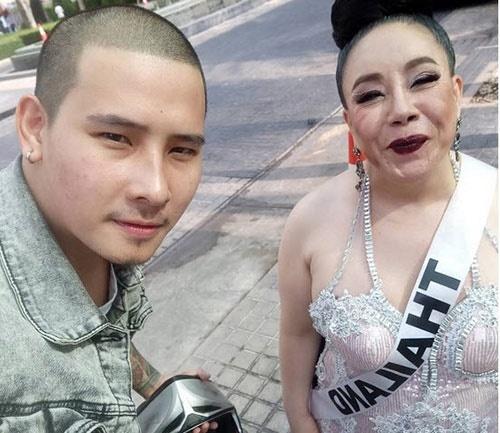 MC Thai Lan bi vo dai gia hon 33 tuoi bo chong vanh hinh anh 1