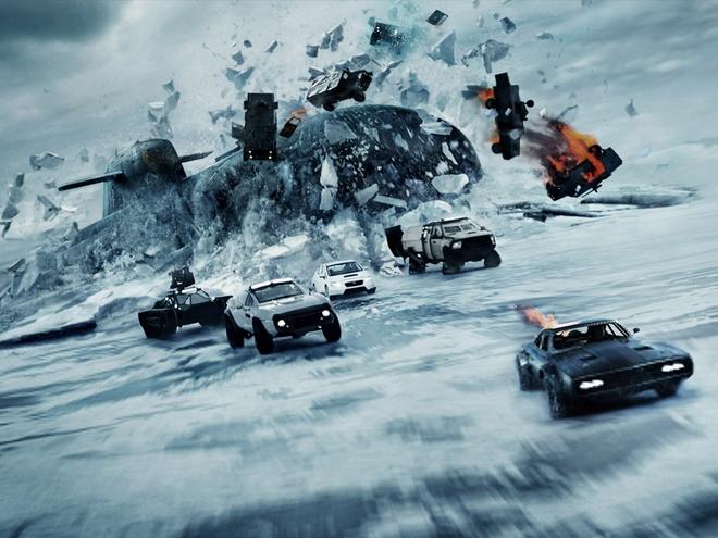 'Fast & Furious 8' lap ky luc, bo xa 'Kong: Skull Island' o Trung Quoc hinh anh