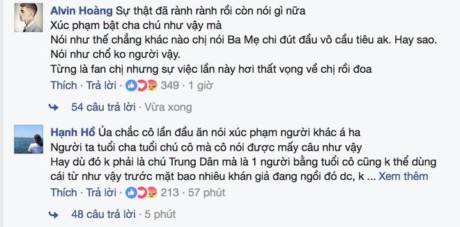 Trung Dan bi Huong Giang Idol xuc pham anh 3