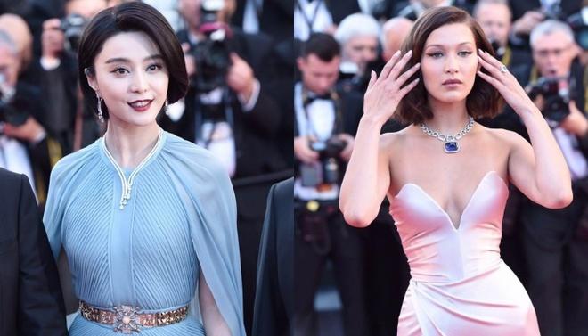 Pham Bang Bang mo nhat giua dan sao lon tren tham do Cannes hinh anh
