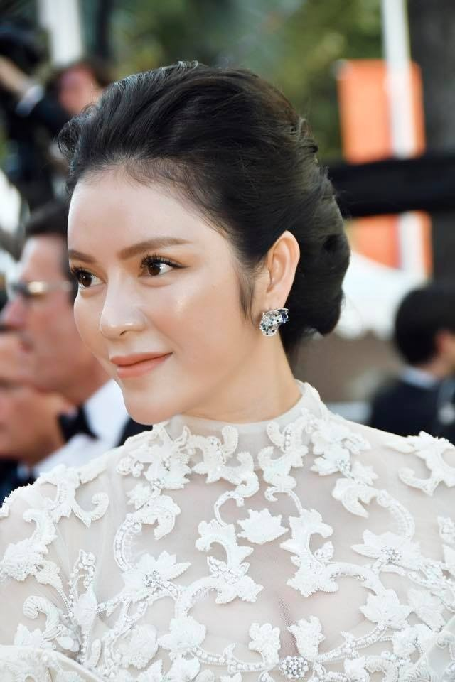Ly Nha Ky tren tham do Cannes anh 4