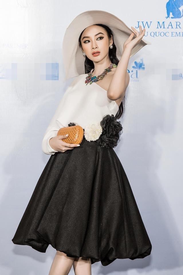 Angela Phuong Trinh va ban trai ra Phu Quoc xem show thoi trang hinh anh 4