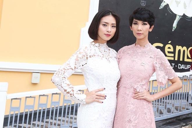 Angela Phuong Trinh va ban trai ra Phu Quoc xem show thoi trang hinh anh 6