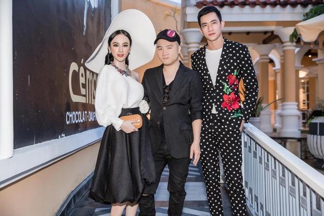 Angela Phuong Trinh va ban trai ra Phu Quoc xem show thoi trang hinh anh 3
