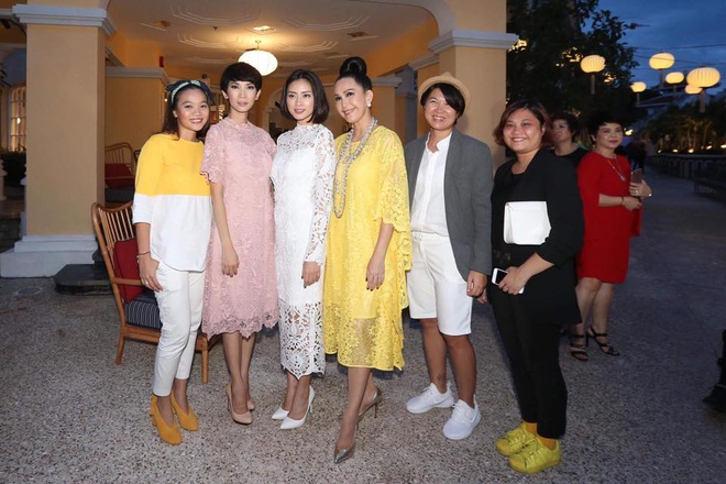 Angela Phuong Trinh va ban trai ra Phu Quoc xem show thoi trang hinh anh 9