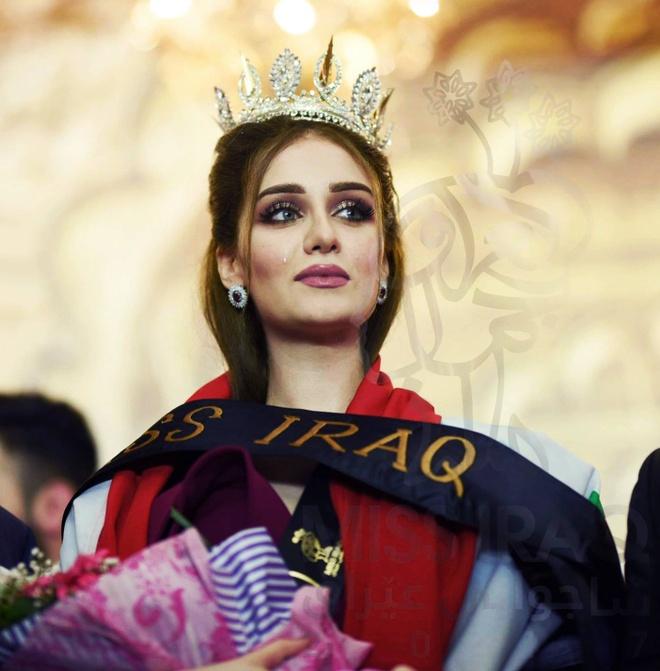 Nguoi dep 23 tuoi dang quang Hoa hau Iraq 2017 trong nuoc mat hinh anh 4