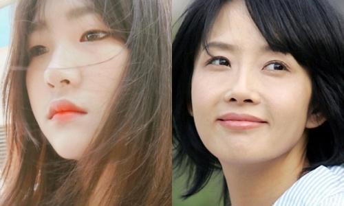 Con gai Choi Jin Sil gay hoang mang khi dang anh treo co hinh anh