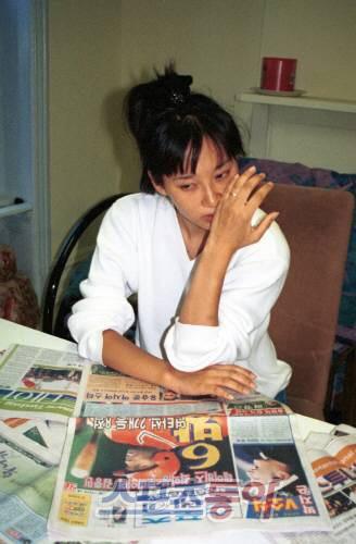 Hoa hau Han Quoc cay dang khi mat ca tinh lan tien vi yeu dai gia hinh anh 3