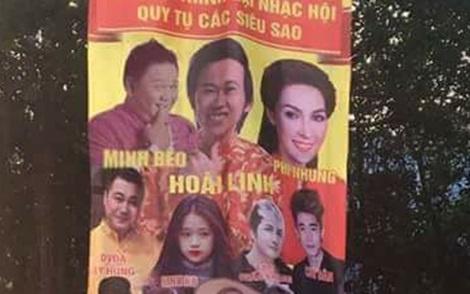 Thuc hu tin Minh Beo dien chung show voi Hoai Linh, Phi Nhung hinh anh