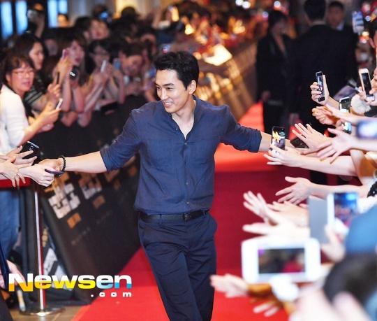 Song Hye Kyo vang mat trong su kien ra mat phim cua Song Joong Ki hinh anh 3