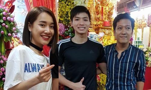 Truong Giang, Nha Phuong cung dan sao Viet le to tai TP.HCM hinh anh