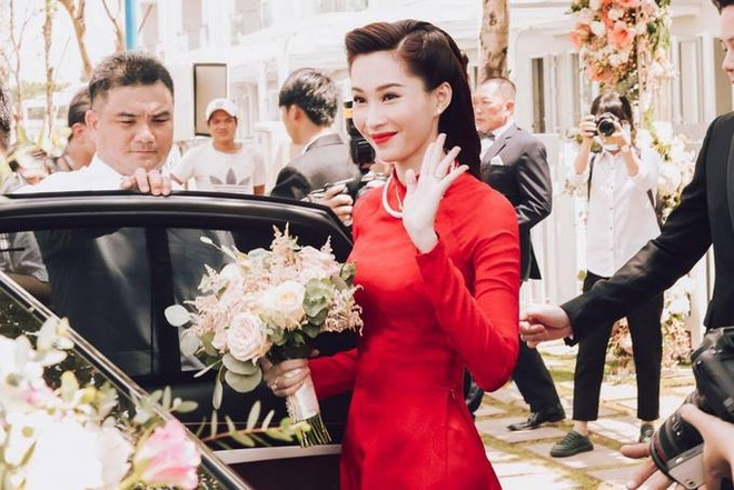 Dang Thu Thao: Co gai thuan nong, tho trang diem thanh co dau ty phu hinh anh