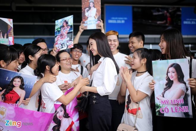 Hoa hau My Linh tuoi tan truoc gio sang Trung Quoc thi Miss World 2017 hinh anh 6