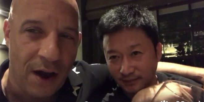 Clip Vin Diesel va Ngo Kinh goi nhau