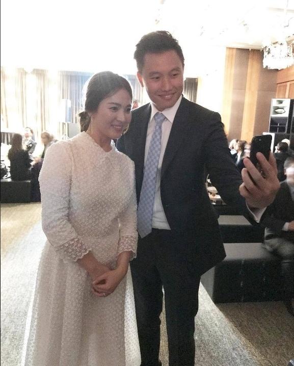 Tang can trong thay, Song Hye Kyo bi nghi dang mang bau hinh anh 1
