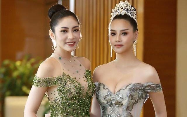 Bo vuong mien, Dang Thu Thao van du su kien voi mac Hoa hau Dai duong hinh anh