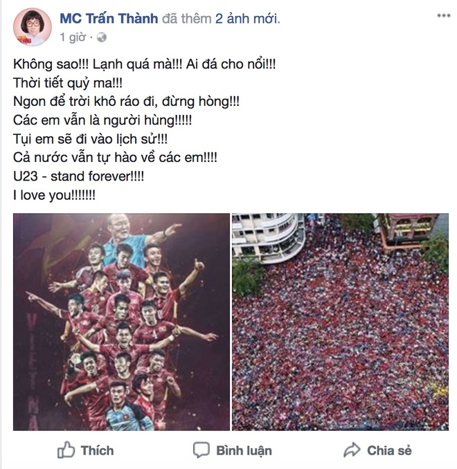 Nghe si Viet: 'U23 Viet Nam, hay ngang dau that cao' hinh anh 4
