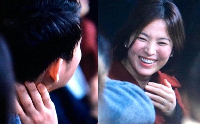 Song Hye Kyo, Song Joong Ki tinh cam di nghe nhac hinh anh