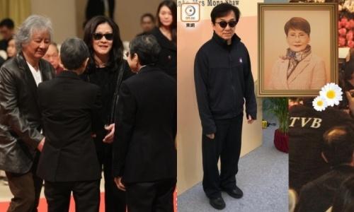 Thanh Long va dan sao du le tuong nho 'nu tuong TVB' hinh anh