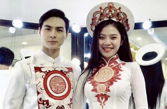 Rut khoi Hoa hau Hoan vu 2017, Chung Huyen Thanh chuan bi cuoi hinh anh