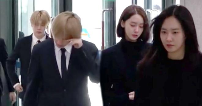 Ban gai cu cung dan sao Han lang le den vieng Jong Hyun (SHINee) hinh anh 2