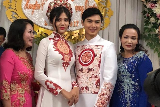 Dam hoi lang le cua Chung Huyen Thanh va hon phu o Hai Phong hinh anh