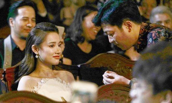 Nha Phuong lan dau len tieng sau vu cau hon on ao cua Truong Giang hinh anh