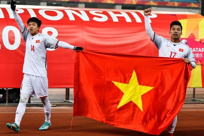 Truyen thong, tuyen thu Trung Quoc choang truoc U23 Viet Nam hinh anh