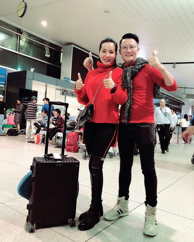 Binh Minh, Quyen Linh va cac nghe si toi Thuong Chau co vu U23 VN hinh anh 2