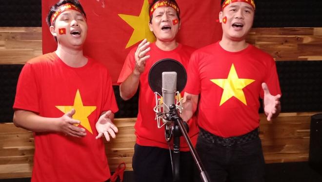 Dan sao Viet quay MV 'Duong den ngay vinh quang' co vu tuyen U23 VN hinh anh 3