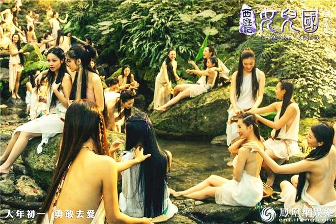 Canh dan my nhan lung tran trong 'Tay du ky' duoc khen ngoi hinh anh 1