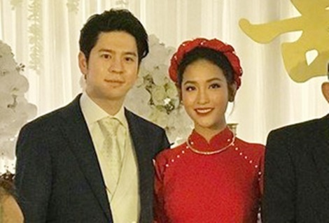 Tinh cu cua Tran Thanh dinh hon voi ban trai Viet kieu hinh anh 1