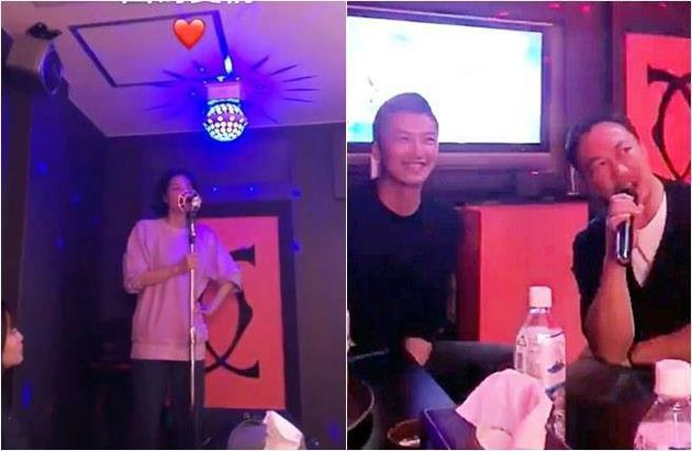 Clip Ta Dinh Phong, Vuong Phi hat o quan karaoke gay chu y hinh anh 1