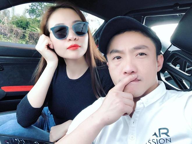 Dam Thu Trang tham gia hanh trinh sieu xe cung Cuong Do La hinh anh