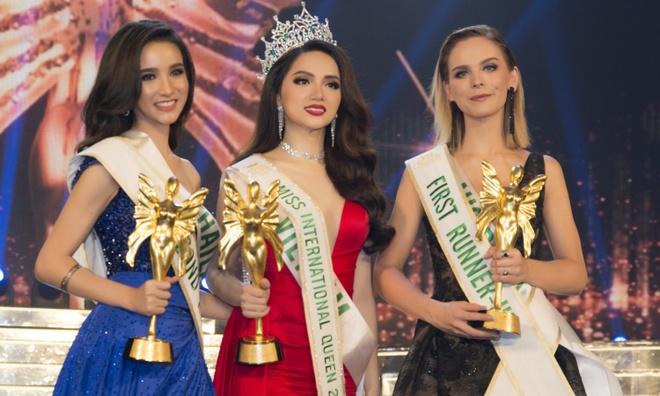 Huong Giang Idol dang quang Hoa hau Chuyen gioi Quoc te 2018 hinh anh
