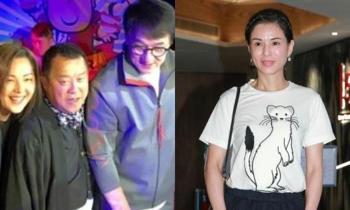 Giua be boi, Tang Chi Vy van duoc dan sao Hong Kong du sinh nhat hinh anh