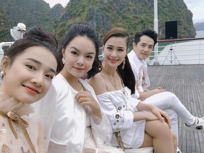 Nha Phuong rang ro ben dong nghiep sau chia se cua Truong Giang hinh anh 2