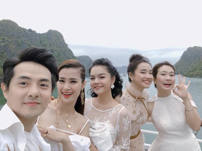 Nha Phuong rang ro ben dong nghiep sau chia se cua Truong Giang hinh anh 1